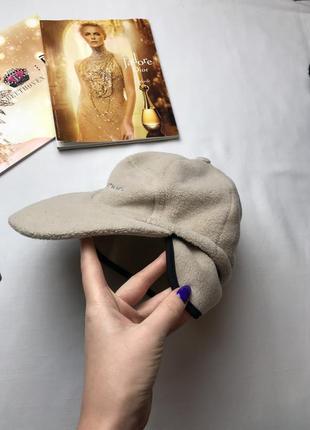 Кепка тёплая шапка с козырьком