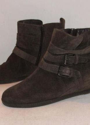Bama_германия замша качественные ботинки 40р ст.26 h85