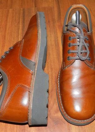 Blue harbour! шикарные, стильные, легкие полностью кожаные туфли