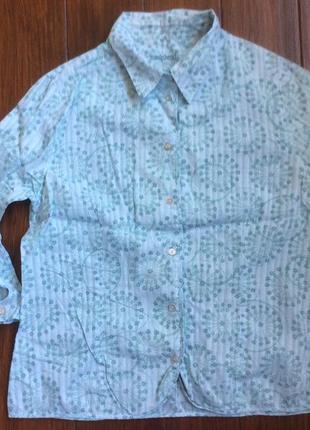 Рубашка хлопковая от hawkshead! p.-14