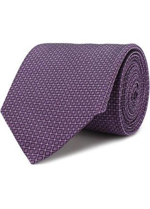 Шелковый галстук hugo boss оригинал