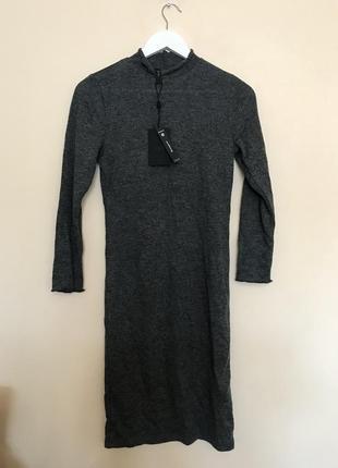 Новорічний розпродаж ! тонкое вязаное платье от y.a.s tall