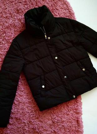 Стильная куртка курточка на синтепоне зимняя