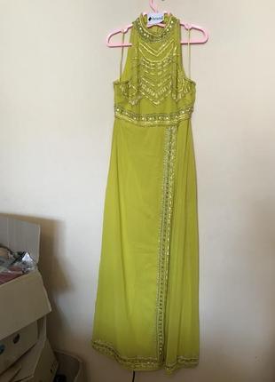 Вечернее платье бисер от asos