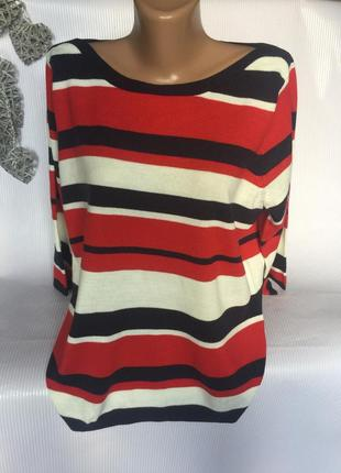 Шикарный свитер полоска