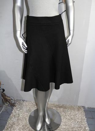 Черная миди юбка zara
