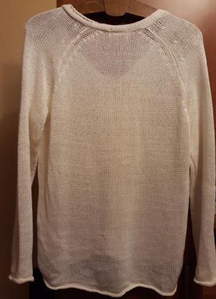 Белый свитер2 фото