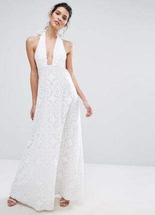 Ліквідація  !!!  платье с ажурной кружевной отделкой true decadence