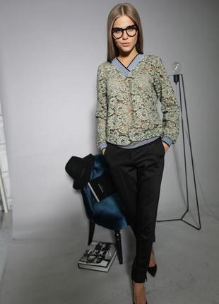 Супер брюки зауженные зима осень
