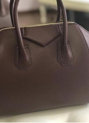Кожаная сумка из италии (натур. кожа)