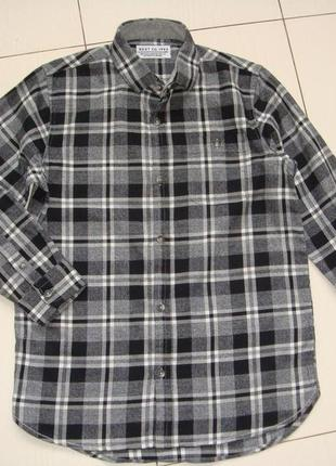 Теплая рубашка 8лет некст