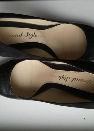 Туфлі модельні чорні