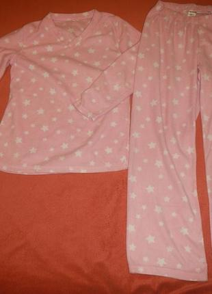 Флисовая пижама avenue р.152-158см(12-14лет)