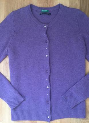 Кардиган benetton кофта джемпер накидка пиджак