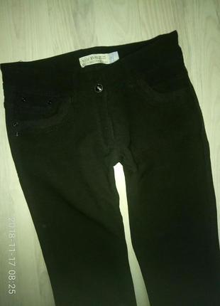 Теплые стрейчевые штанишки