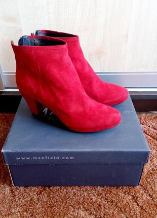 Женские демисезонные ботинки manfield