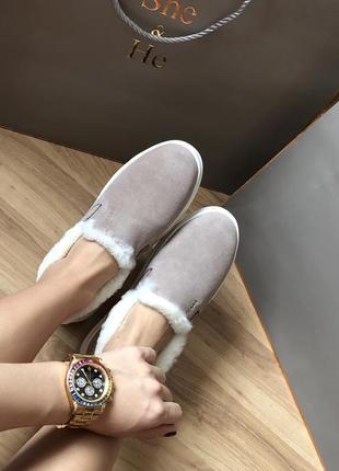 Тёплые зимние кожаные сапоги ботинки 37 38 39