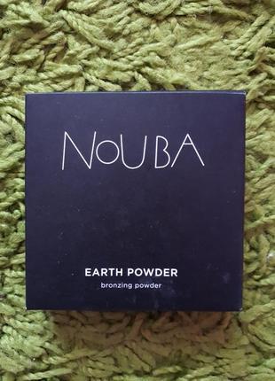 Бронзирующая пудра от итальянского бренда 'nouba'