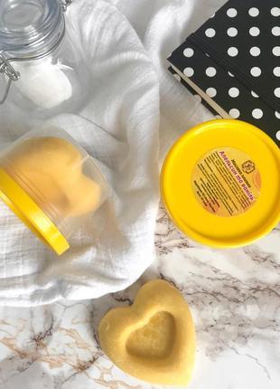 Масляная плиточка-баттер «апельсин с ванилью»