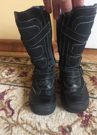 Зимние сапоги сапожки ботинки bartek 17 см 27 р