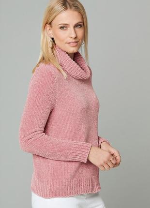 Трендовый велюровый мягкий свитер