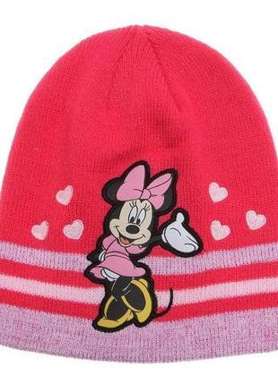 Новая шапка minnie mouse для девочки, disney, 6644