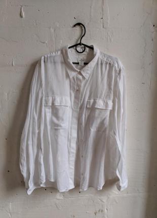 Белая рубашка оверсайз  levi's