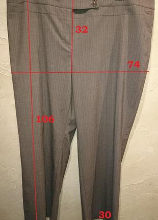 Стильный офисный коричневый классический костюм пиджак брюки next4