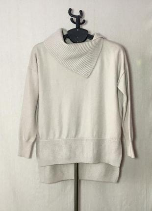 Karen millen шерстяной (92%шерсть) свитер оверсайз