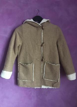 Демисезонне пальто zara girls 11-12р 152см