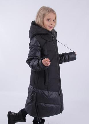 Теплое пальто purosporo для девочки 158,164,170