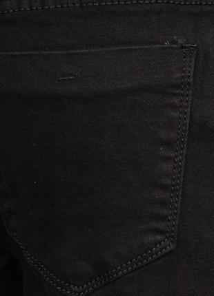 Джинсы на резинке бойфренды с манжетом женские4 фото