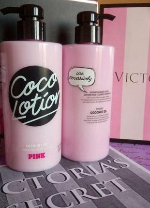 Увлажняющий лосьон victoria's secret pink coco lotion coconut oil 414 мл 🥥🌴🥥