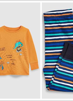 Хлопковая пижама на 4-5 лет 110 см некст next