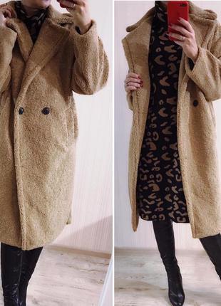 Шикарное пальто camel. еврозима.