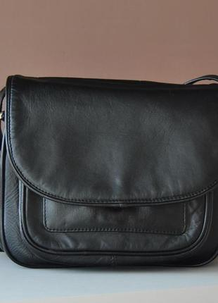 Кожаная сумка кроссбоди visconti / шкіряна сумка