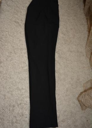 Натуральные теплые зауженные брюки, шерсть, классика, на высокую