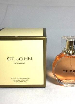 Парфюмированная вода.аромат st. john. signature