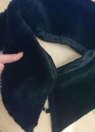 Воротник на куртку искуственный мех гладкий