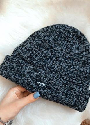 Мужская шапка thinsulate insulation (сша)/ серая/ тёплая