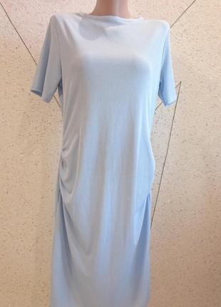 Платье в рубчик 12-16