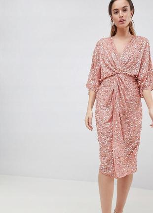 💎💖розпродаж колекції! asos розкішна сукня в паєтках на новий рік доставка сутки xs-m