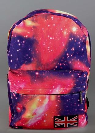 3-37 молодежный рюкзак космос стильный вместительный