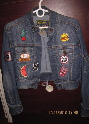 Продам клевый джинсовый пиджак