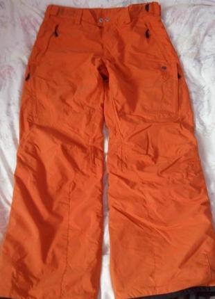 Брюки штаны лыжные recco belowzero размер м 47см п/о талии