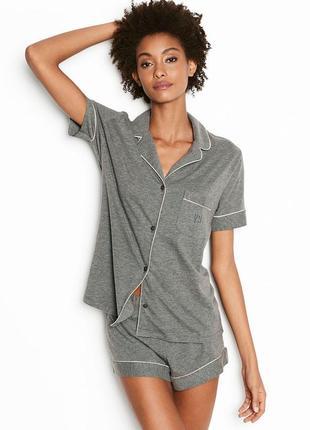 Мягкая и комфортная фланелевая пижама от виктория сикрет. Victoria s ... c637af5c5d68f