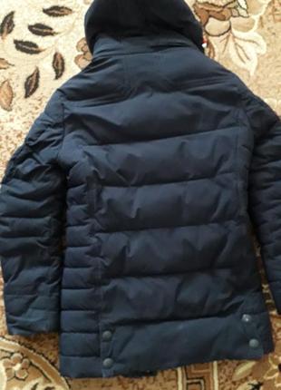 Куртка зимова темно синя