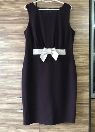 Тёплое платье, шерсть, размер 48-50