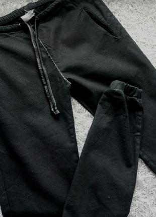 Спортивные штаны брюки черные asos унисекс xs s