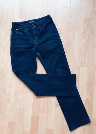 Качественный джинсы стрейч  с завышенной талией armani оригинал